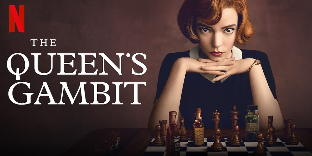 "Chess mini series ""The queen's gambit"" among the most watched on Netflix"